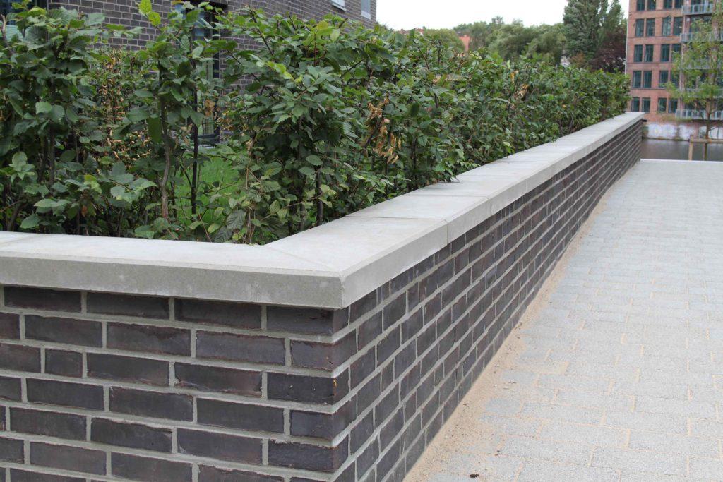 Mauerabdeckungen Rebmann Betonsteinwerk Norderstedt