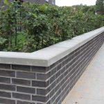 Rebmann Mauerabdeckung Beton grau