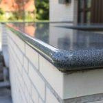 Granit Mauerabdeckung rund Rebmann