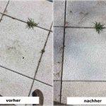 Reinigung Terrassenplatten Rebmann Betonsteinwerk