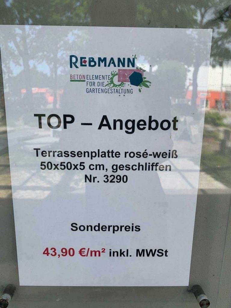 Angebote Terrassenplatte Hamburg